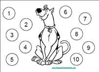 Reward Chart with a picture of Curious George and space