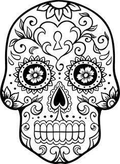 1000+ images about Dia de Los Muertos /BLACK AND WHITE ART