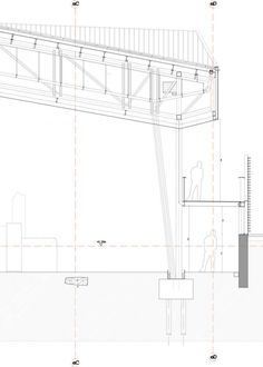 steel decking detail with structural steel column beams