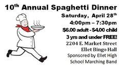Pin by Julie Deal on Spaghetti Dinner Fundraiser