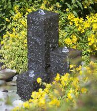 Wasserbrunnen Quellstein Granit Säule NATURSTEIN Brunnen