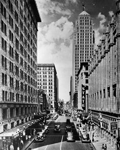 View North On Robinson From Grand Now Sheridan C 1930s That S