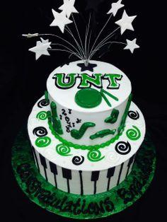 1000 Images About Unt Grad On Pinterest Graduation Cake