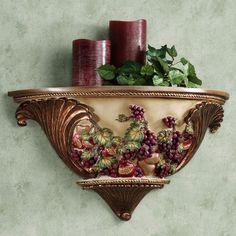 Grape Kitchen Items CANISTER SET WINE BOTTLE GLASS GRAPE