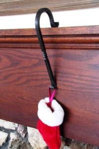 Fireplace Mantle Christmas Stocking Hanger | Christmas ...