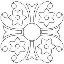 1000+ images about Rangoli Kolam Mandala on Pinterest
