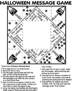Free printable! A confetti birthday paper fortune teller