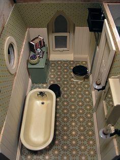 cement kitchen sink refrigerator 1000+ images about chrysnbon-miniatures on pinterest ...
