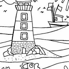 Lighthouse activities for kids: Here is a word scramble