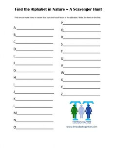 50+ FREE Scavenger Hunts for Kids {w/free printables