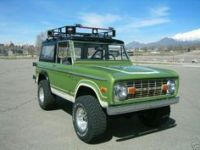 Green early bronco with roof rack | How I roll | Pinterest ...