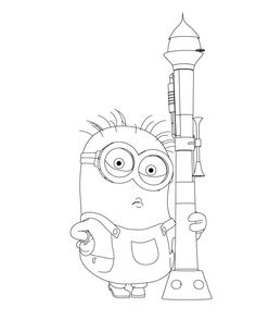 Crazy-Dave-The-Minion-Coloring-Page.jpg (600×783