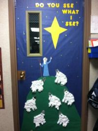 1000+ images about Christmas classroom door decoration on ...