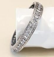 Image result for jacqueline bouvier engagement bracelet