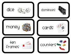 1000+ ideas about Math Manipulative Labels on Pinterest