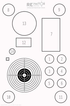1000's of FREE Printable Shooting Targets! : such as this