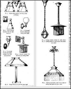 Craftsman Homes by Gustav Stickley (1909). Craftsman metal