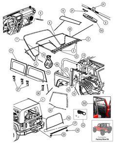 1000+ images about Jeep JK Parts Diagrams on Pinterest