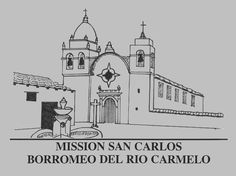 California missions history coloring pages for kids