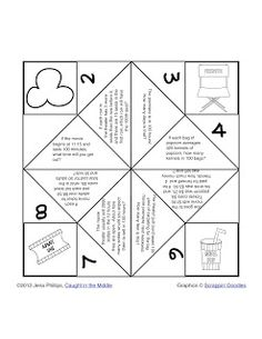 Here's a nice template for solving story problems in math