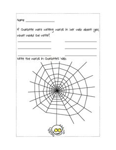 Spider activities: FREE spider printables: Practice the