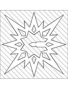 Printable Star Template and many others from bingo cards