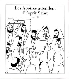 The Day Of Pentecost Puzzle (Activity Sheet) Activity