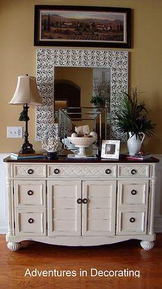Brown Dresser on Pinterest