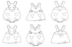 1000+ images about patrones ropa de bebe on Pinterest