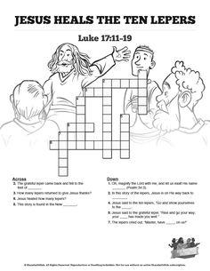 Book of Nehemiah Sunday School Crossword Puzzles: The book
