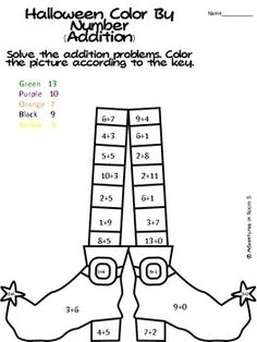 Color by numbers, Teen numbers and Numbers on Pinterest