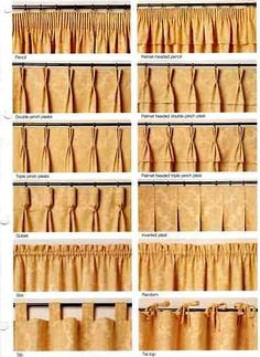 Inverted Pinch Pleat Curtains Window Treatments Pinterest