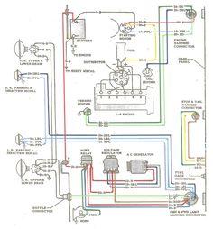 vw voltage regulator wiring diagram 3 phase plug electric: l-6 engine | '60s chevy c10 - & electric pinterest ...
