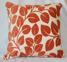ORANGE PILLOW Burnt Orange Pillow Decorative Orange By EastAndNest
