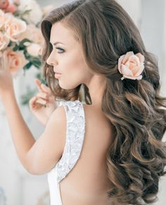 10 Bridal Hairstyles For Medium Length Hair Hair Flowers