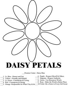 Daisies, Templates and A flower on Pinterest