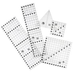 Creative Grids, Circle Savvy Ruler. Cuts circles, semi