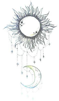 Sun, Sister tattoos and Tattoo ideas on Pinterest