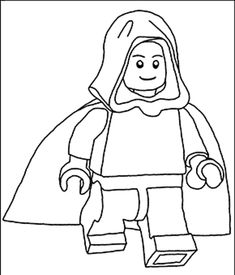 Lego Stormtrooper Coloring Pages Sketch Coloring Page