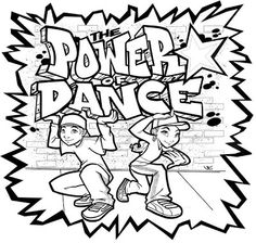 1000+ images about Dance Coloring Sheets on Pinterest