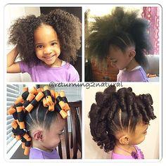 Cute Little Girl Hairstyle Hair Styles Pinterest Filles