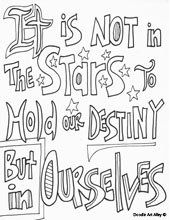 Quote coloring pages, All quotes and Coloring on Pinterest