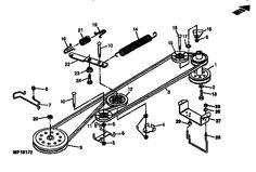 John Deere Lawn Mower Blade FOR 300, GT, GX, LT, LX