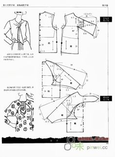 Sleeve pattern, Picasa and Patterns on Pinterest