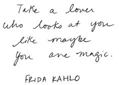 Words of wisdom, love and hope. [ MalejaAndCourtier