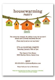 House Warming Party Invitation There Print And Invitations