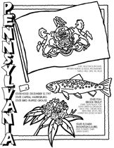 State outline, New jersey and Coloring pages on Pinterest