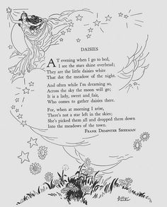 Funny summer and spring children's poem about honeybees