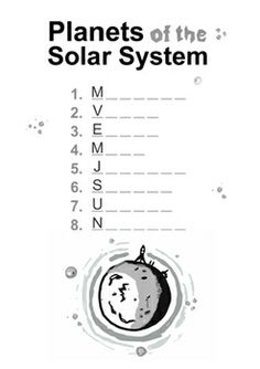 INNER PLANETS worksheets and presentation ( Solar System