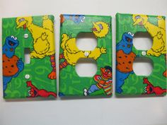 Thinking Of Doing Mama S Boy Room In Sesame Street I Could So Make These Myself